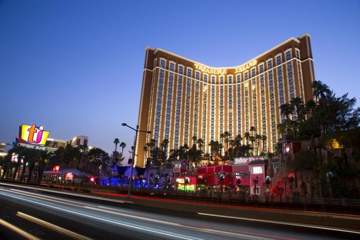 Treasure Island - TI Hotel & Casino in Las Vegas - Exterior