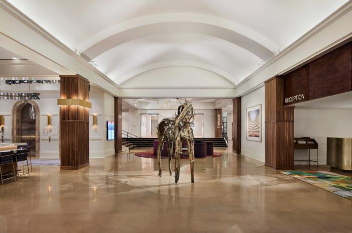 Saint Kate - The Arts Hotel - Lobby Photo Credit: David Mitchell/Stonehill Taylor