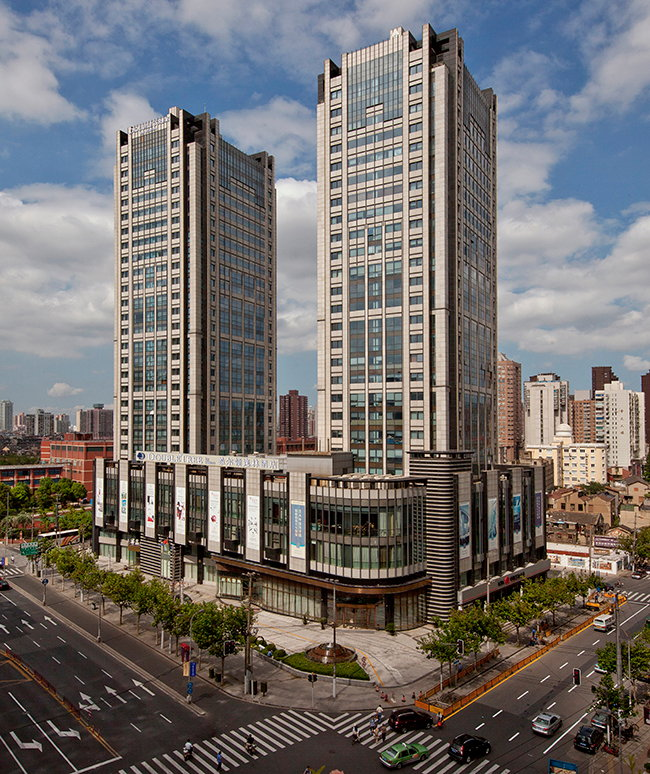 Rendering of the DoubleTree by Hilton Shanghai Jing'an