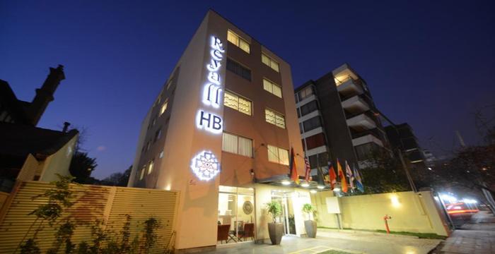 Reyall Boutique Hotel in Santiago - Exterior