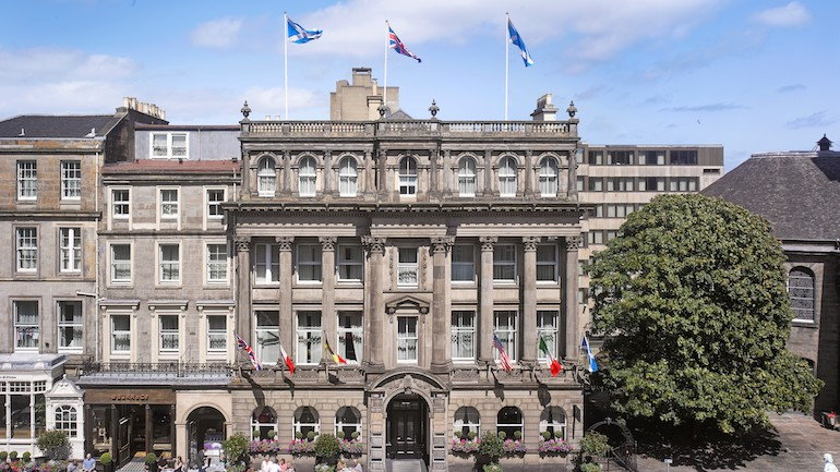 InterContinental Edinburgh – The George - Exterior