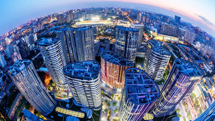Beijing - Aerial view