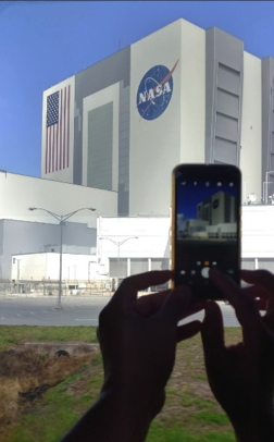 A buliding at Kennedy Space Center