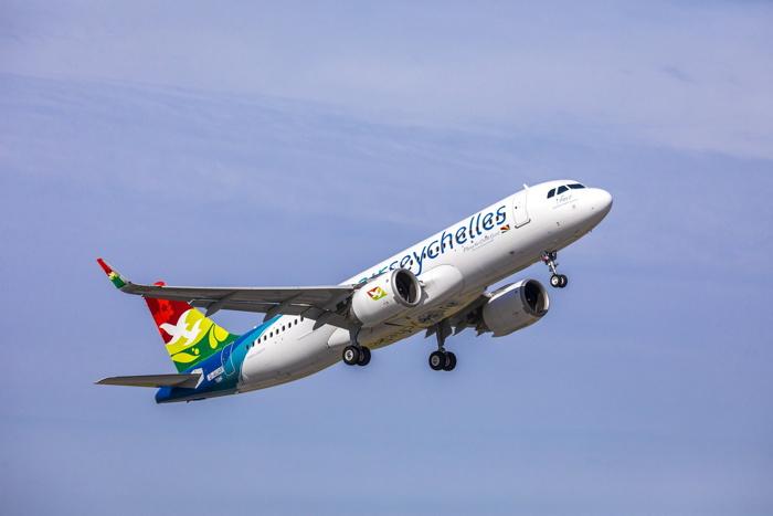 An Air Seychelles A320neo
