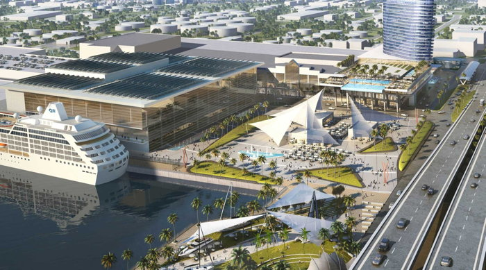 Rendering of the Broward County Convention Center