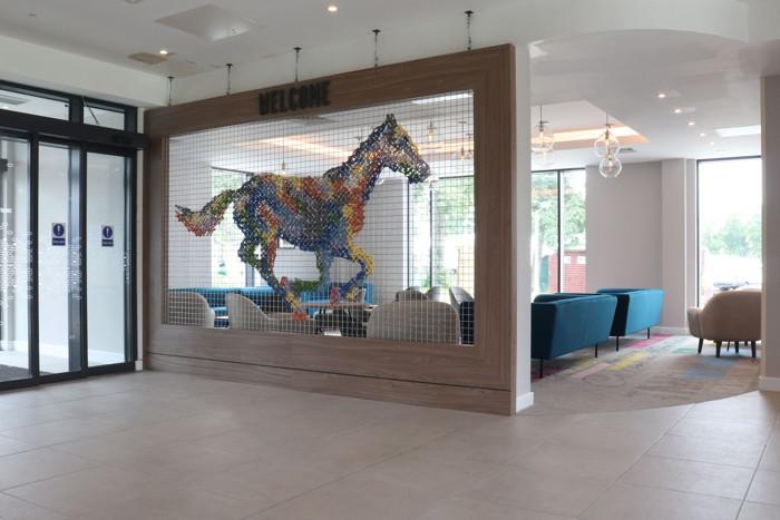 Hampton by Hilton Hamilton Park - Lobby