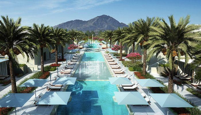 Rendering of the The Ritz-Carlton Paradise Valley - Pool