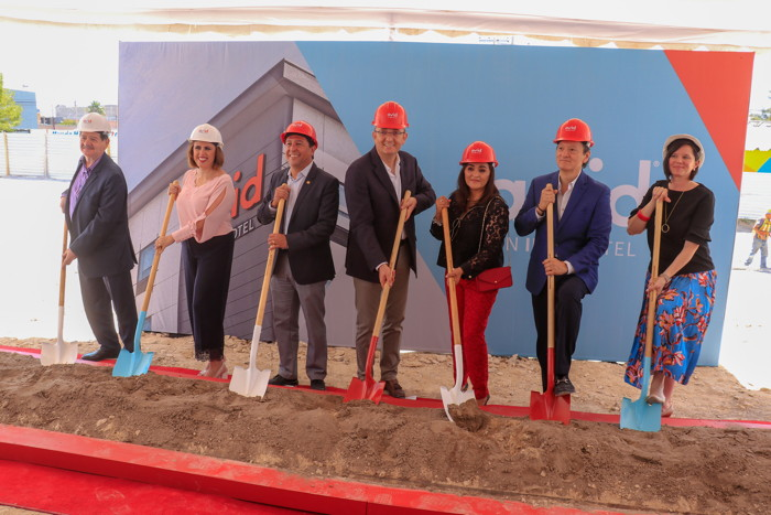 Image from the First avid Hotel Groundbreaking in Mexico