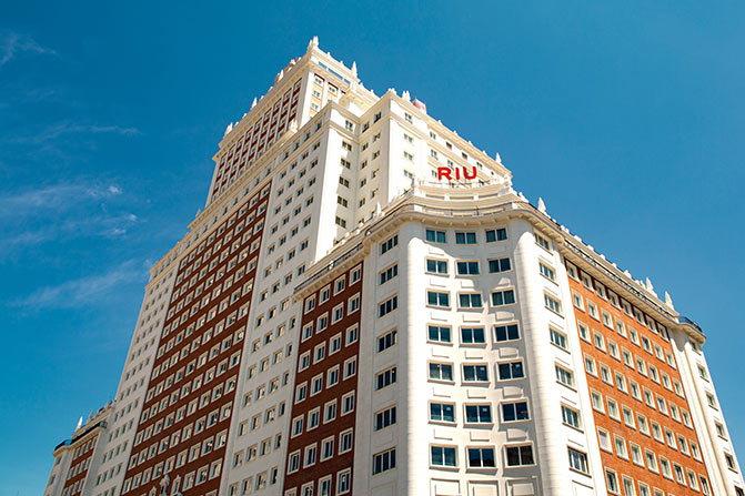 Riu Plaza España Hotel - Exterior