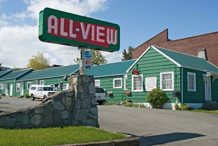 All View Motel - Port Angeles, WA- Exterior