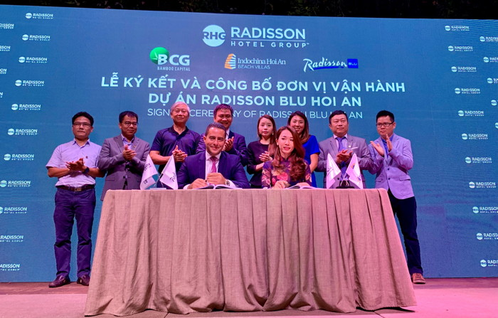 Image from Radisson Blu Hoi An Hotel signing ceremony