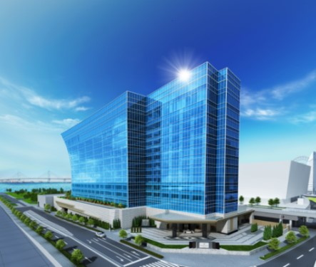 Rendering of the Kahala Hotel & Resort Yokoham