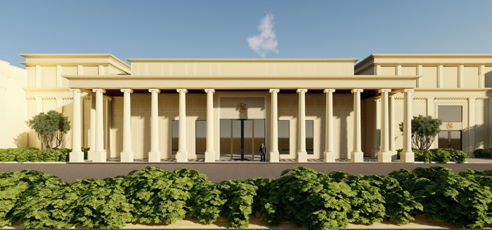 Rendering of the SeleQtions Hotel in Jaipur, Rajasthan