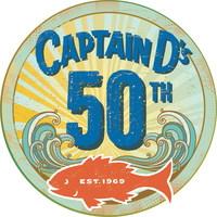 Captain D's 50th Anniversary logo