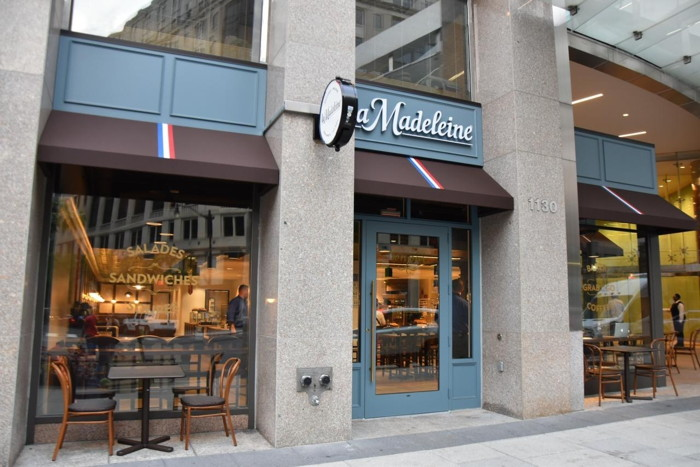 La Madeleine at 1130 Connecticut Avenue in Washington DC
