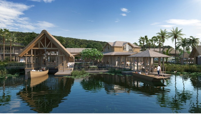 Rendering of the the Spa at the Six Senses La Sagesse, Grenada