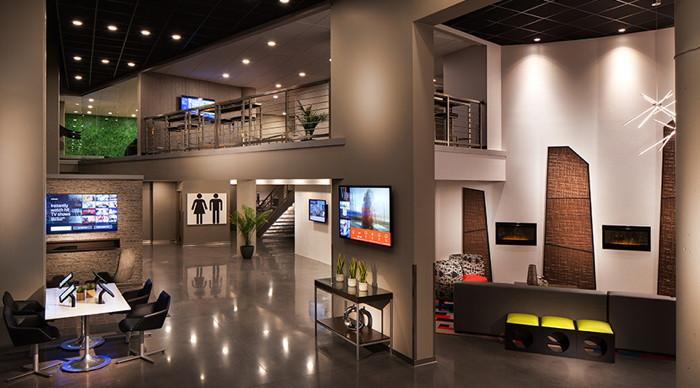 A Vib hotel prototype lobby
