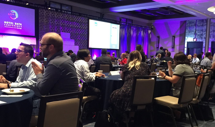 Attendees at Hotel Data Conference 2019