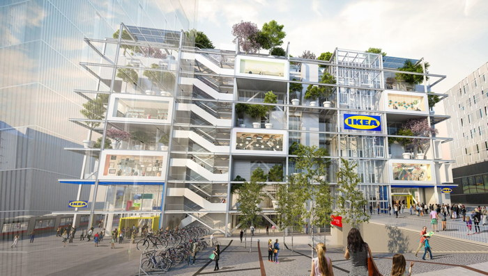 Rendering of the JO&JOE Hotel in Vienna