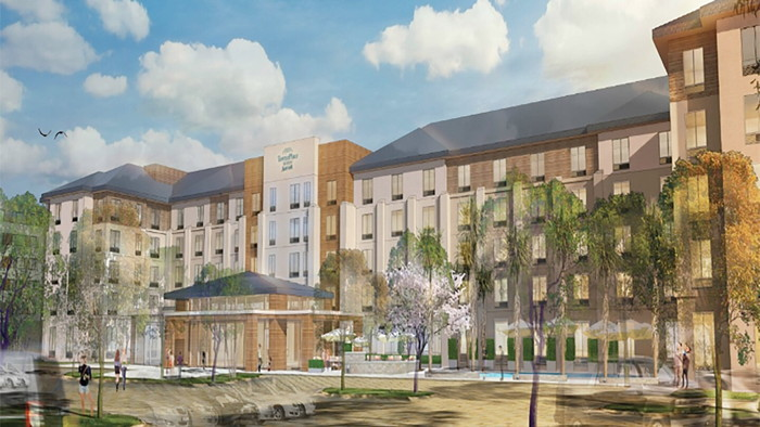 Rendering of the TownePlace Suites by Marriott San Diego Airport | Liberty Station