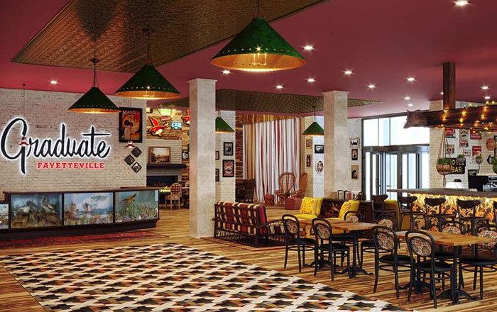 Graduate Fayetteville Hotel - Lobby