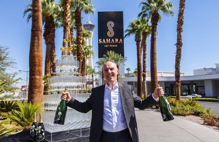 Senior vice president and general manager of SAHARA Las Vegas, Paul Hobson