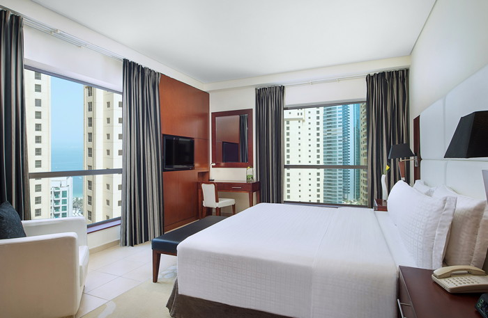 Guestroom at the Delta Hotels by Marriott Jumeirah Beach, Dubai
