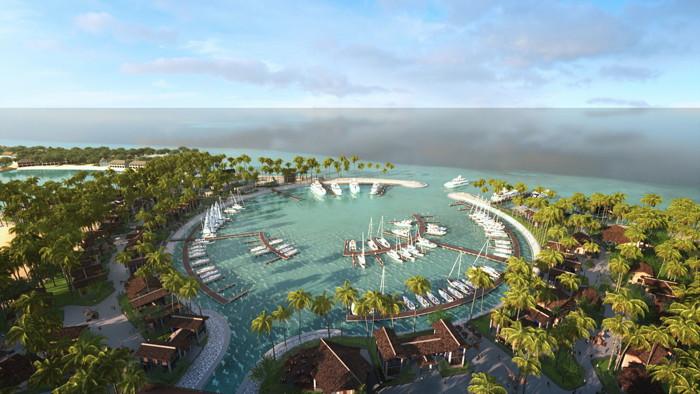 SAii Lagoon Maldives - Aerial view