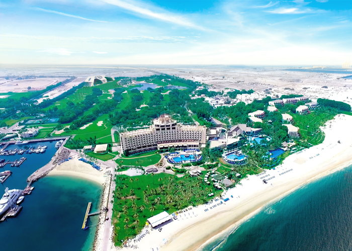 JA The Resort Dubai - Arial view