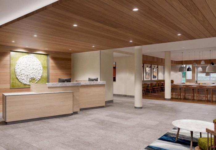 Fairfield by Marriott Inn & Suites Des Moines Downtown - Lobby