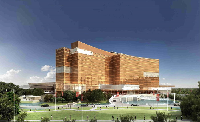 Rendering of the Tivoli Chengdu Hotel