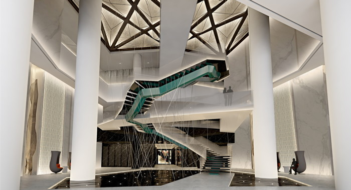 Rendering of the Radisson Blu Hangzhou Xintiandi - Lobby