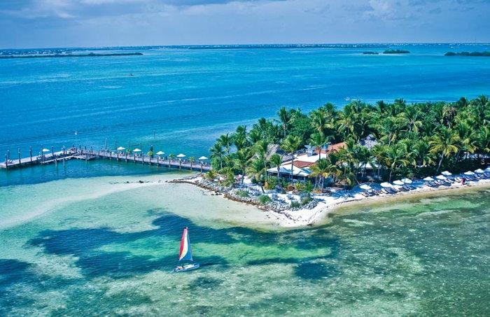 Little Palm Island Resort - Aerial view