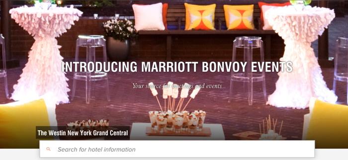 Marriott Bonvoy Events - screeenshot