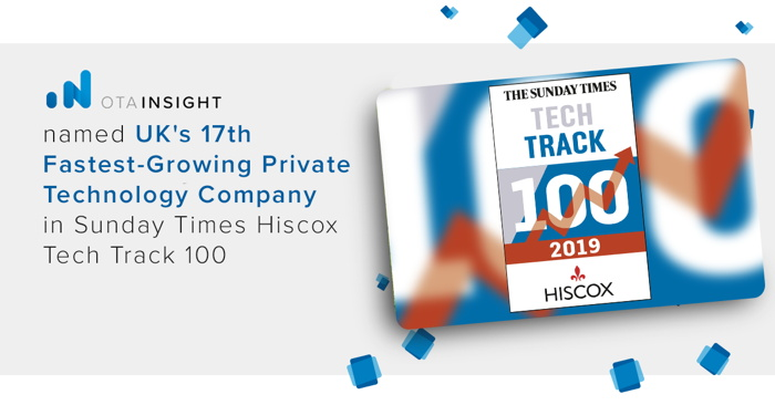 Sunday Times Hiscox Tech Track 100 - Badge
