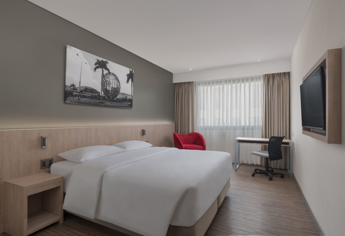 guestroom at the Park Inn by Radisson North EDSA