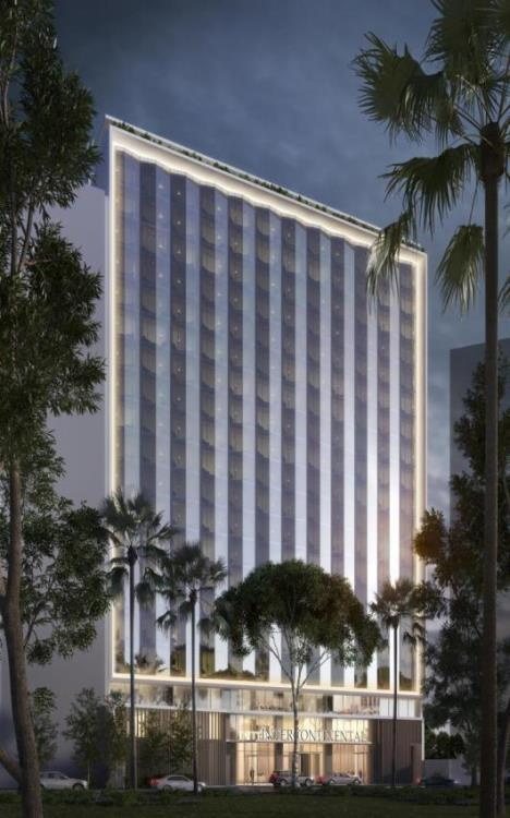 Rendering of the InterContinental Lima Miraflores
