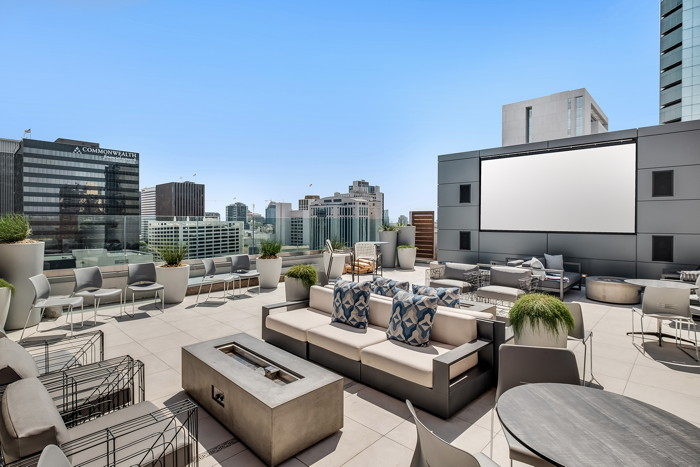 Carté Hotel in San Diego - Rooftop Terrace