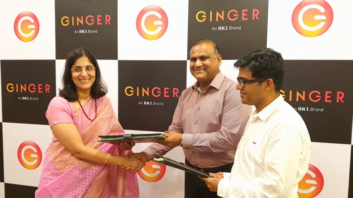 Image from Ginger hotel signing ceremony
