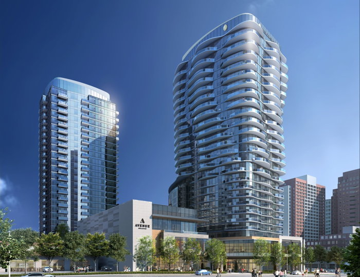 Rendering of the Avenue Bellevue development