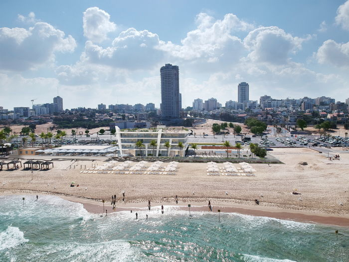Rendering of the Swell Beach Hotel Ashdod