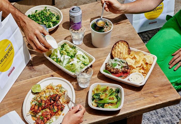 Various Bon Appétit, Delivered dishes - Photo credit: Alex Lau,& Bon Appétit
