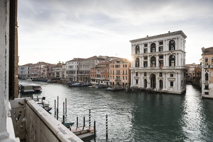 Aman Venice Hotel - Canal view