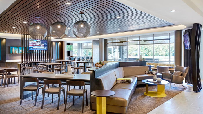 SpringHill Suites by Marriott in Wixom, Michigan - Lounge