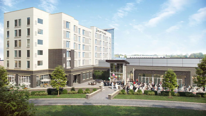 Hyatt Place Wilmington Riverfront Hotel - Exterior