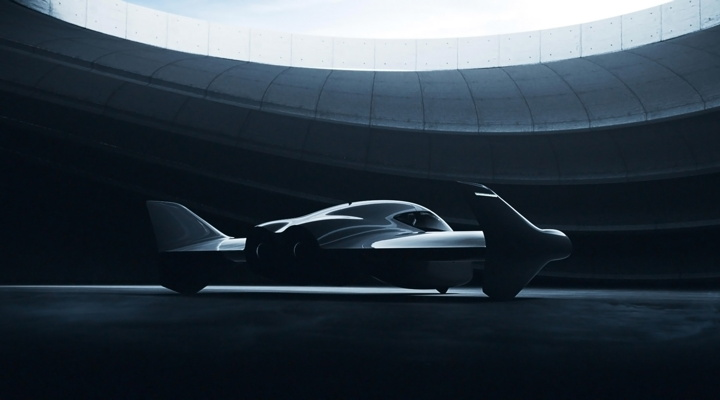Porsche and Boeing fully electric vertical takeoff and landing vehicle