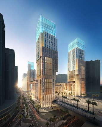 Rendering of the Kempinski Hotel Makkah
