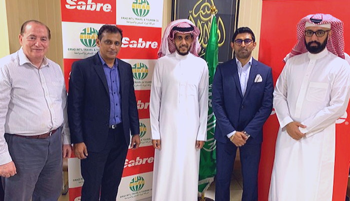 Eirad International Tours and Travels and Sabre executives