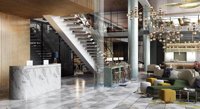 The Slaak Rotterdam Lobby