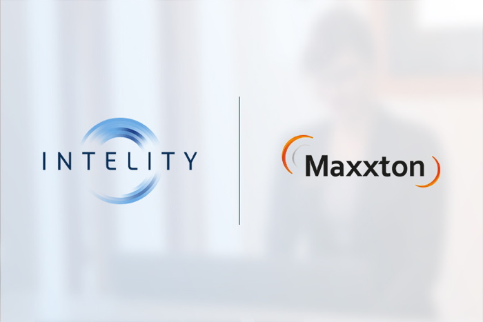 INTELITY and Maxxton logos